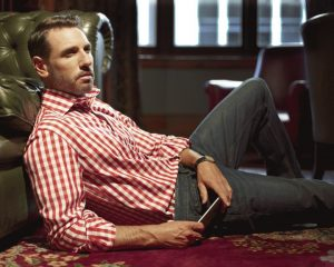 Louis ii Shirts red gingham check