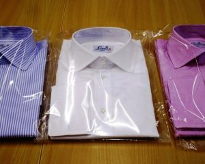 Louis ii Shirts bengal stripe, plain white, pink/ lilac end on end