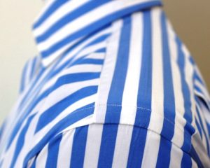Louis ii Shirt blue stripes