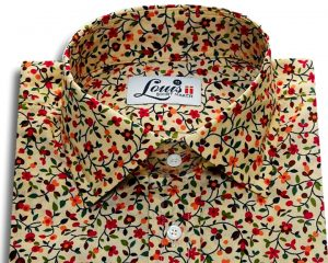 Louis ii Shirt Wildberry floral