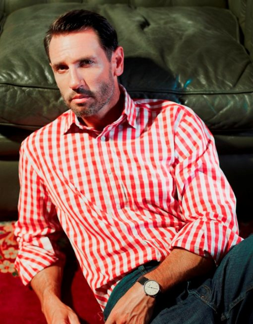 Louis ii Shirts red gingham