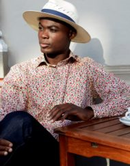 Louis ii Shirts floral wildberry
